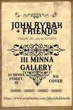 John Rybak Friends at Minna Gallery