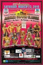 2019 36th Annual Copper Classic Natural BodyBuilding and Bikini Championship Competition