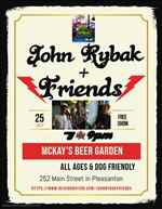 John Rybak Friends at McKay s Taphouse Beer Garden