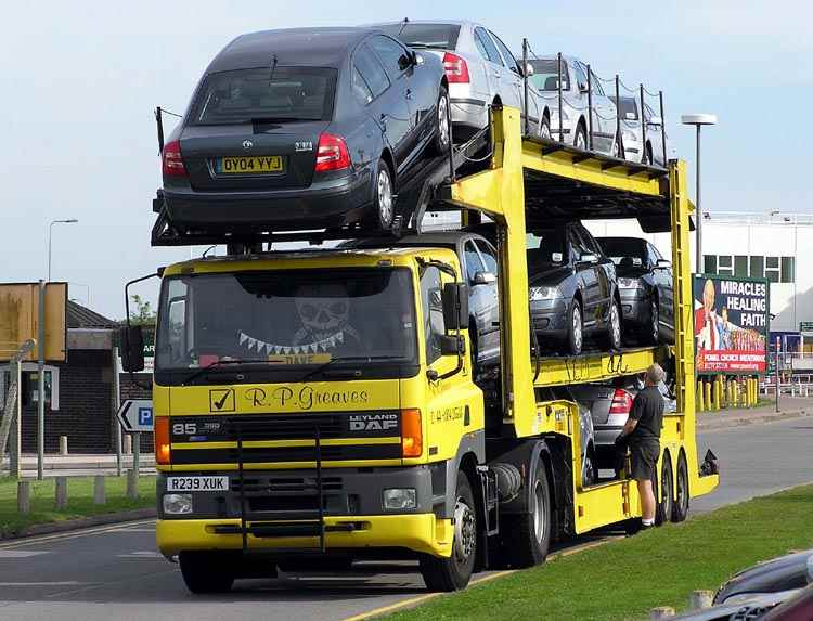 Car shipping, Motercycle transportation