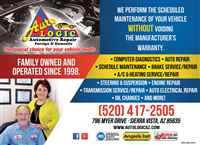 $10.00 Off Complete Service With Repair