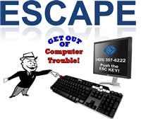ESCAPE - get out of computer trouble copy copy
