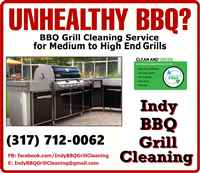 Indy BBQ Grill Cleaning