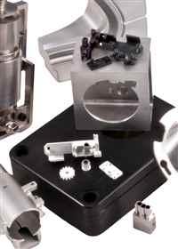 Close Up CNC Parts