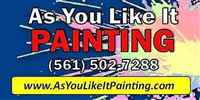 As You Like It Painting Company, Inc.