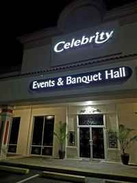 Celebrity Events and Banquet Halls