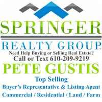 Pete Gustis Realtor Springer Realty Group