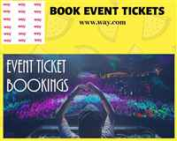 BOOK EVENT TICKETS