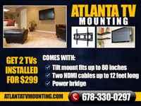 Atlanta TV Wall Mount