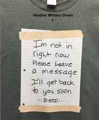 Heather Military Grn L not in