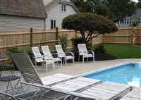 Pool Wood Fences