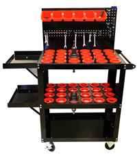 Find CNC Tool Carts for all types of CNC Holders
