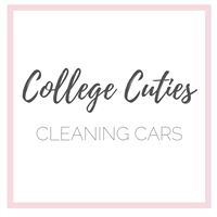 College Cuties Cleaning Cars