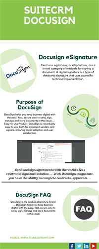 CRM Software  DocuSign Connector