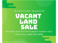 USA Land SALE