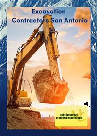 Excavation Contractors San Antonio TX