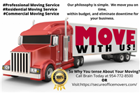 Secure Office & Commercial Moving Service
