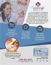 Community Health 1st ER