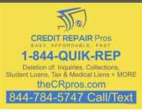 Specializes in credit restorations and consultatio