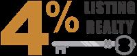 4-Percent-Listing-Realty-South-Florida-logo