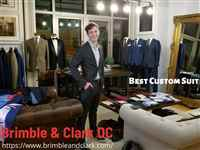 Brimble & Clark DC Custom Suits and Menswear