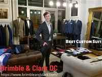 Brimble & Clark DC Custom Suits and Menswear