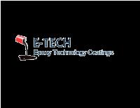 Epoxy Technology Coatings E-TECH