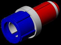 Fiber Optic Simplex Duct Plugs