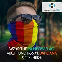 Gay Pride Rainbow Multi-Functional Bandana