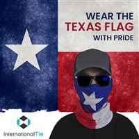 TEXAS FLAG MULTIFUNCTIONAL BANDANA