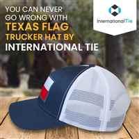 INTERNATIONAL TIE TEXAS STATE FLAG HAT