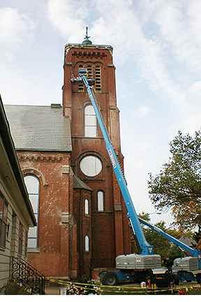 Historic building restoration in Toledo, OH