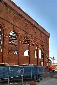 Toledo historic building restoration