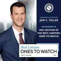 Jon C. Teller Best Lawyers 2021