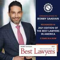 Bobby Saadian Best Lawyers 2021