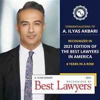 A. ILYAS AKBARI Best Lawyers 2021
