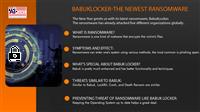 Babuk Locker- The Newest Ransomware