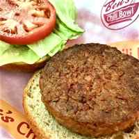 Veggie Burgers Available at Ben's Chili Bowl