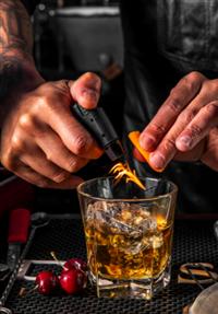 Try a Fun Cocktail at Bar Vegan