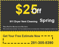 911 Dryer Vent Cleaning Spring TX