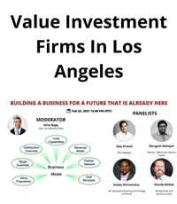 TiE SoCaL Value Investment Firms In Los Angeles