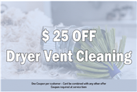 911 Dryer Vent Cleaning Cinco Ranch TX