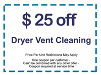 911 Dryer Vent Cleaning seabrook TX