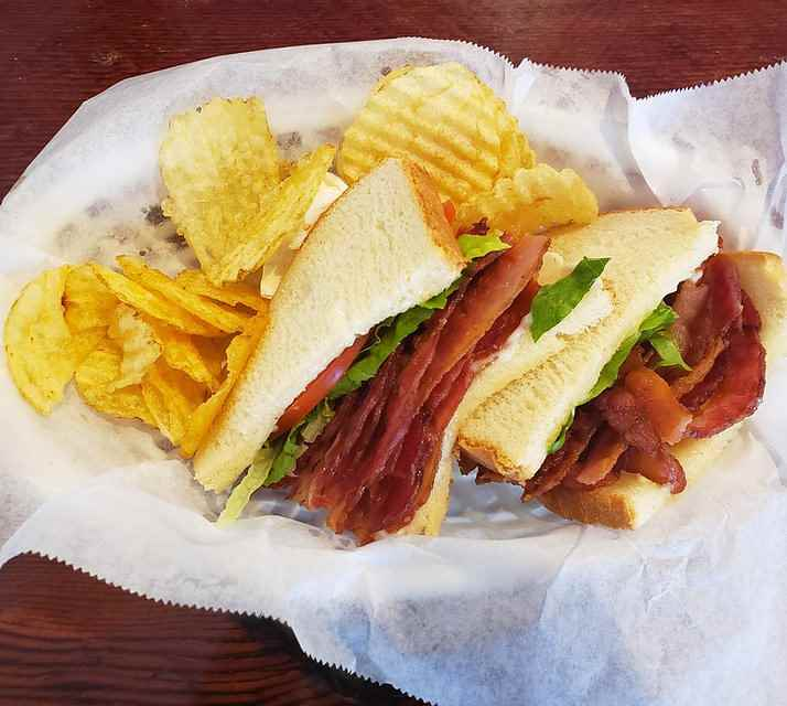 Bacon Sandwich at Johnathan_s Sandwich House