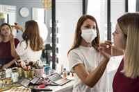 make-up-artist-wearing-medical-mask-reflection-mirror