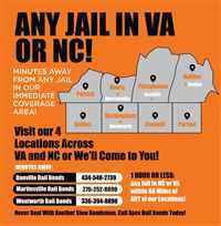 Apex Bail Bonds of Wentworth, NC
