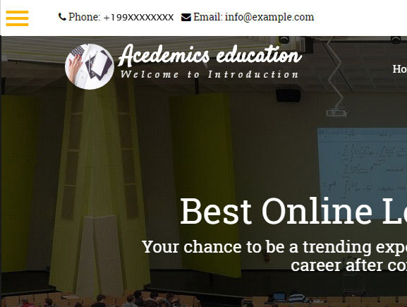 Academics Thumbnail Image