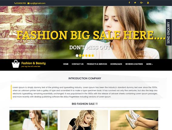 Fashion & Beauty Thumbnail Image