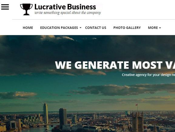 Lucrative Business Design Thumbnail Image